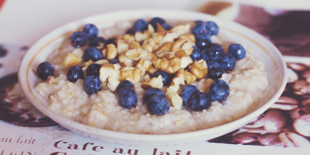 porridge mirtilli