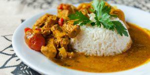 pollo curry